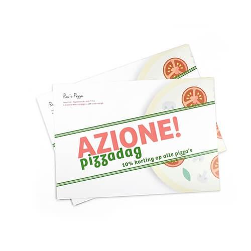 Online drukwerk van kaarten tot flyers drukken